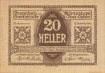 Austria, 20 Heller, FS 5a