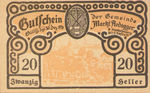 Austria, 20 Heller, FS 50e