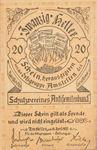 Austria, 20 Heller, FS 38c