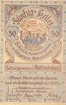 Austria, 50 Heller, FS 38c