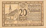 Austria, 20 Heller, FS 55e