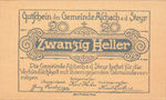 Austria, 20 Heller, FS 54a