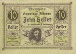 Austria, 10 Heller, FS 18IIc