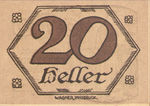 Austria, 20 Heller, FS 99c