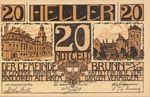 Austria, 20 Heller, FS 109a