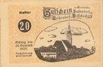 Austria, 20 Heller, FS 112g