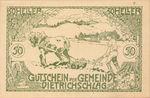 Austria, 50 Heller, FS 124b