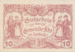 Austria, 10 Heller, FS 151a