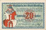 Austria, 20 Heller, FS 152IIIa
