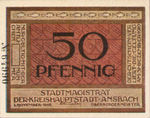 Germany, 50 Pfennig, A20.5b