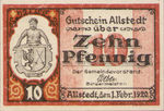 Germany, 10 Pfennig, A7.1b