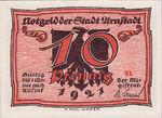Germany, 10 Pfennig, 43.1