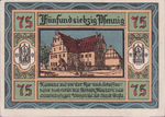 Germany, 75 Pfennig, 8.1