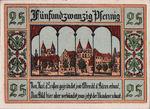 Germany, 25 Pfennig, 8.2b