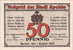 Germany, 50 Pfennig, 36.3a