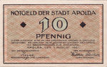 Germany, 10 Pfennig, 36.1