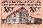 Germany, 50 Pfennig, 33.1a