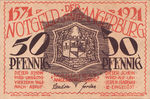 Germany, 50 Pfennig, 33.1a