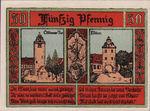 Germany, 50 Pfennig, 8.3b