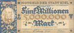 Germany, 5,000,000 Mark, 2614g