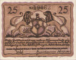Germany, 25 Pfennig, A4.3a