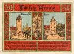 Germany, 50 Pfennig, 8.2b