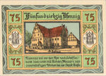 Germany, 75 Pfennig, 8.3a