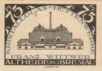 Germany, 75 Pfennig, 28.1