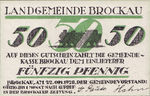 Germany, 50 Pfennig, 189.1b