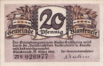 Germany, 20 Pfennig, 115.2