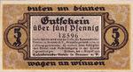 Germany, 5 Pfennig, 170.1