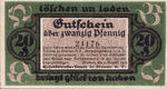 Germany, 20 Pfennig, 170.1