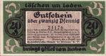 Germany, 20 Pfennig, 170.1