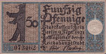 Germany, 50 Pfennig, 92.2