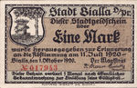 Germany, 1 Mark, 100.1a
