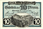 Germany, 10 Pfennig, B34.8a