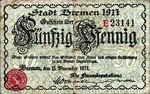 Germany, 50 Pfennig, B85.1