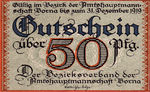 Germany, 50 Pfennig, B80.2