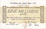 Germany, 1,000,000,000 Mark, 659e