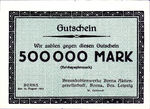 Germany, 500,000 Mark, 538c