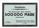 Germany, 500,000 Mark, 538c