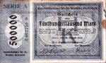Germany, 500,000 Mark, 2480a