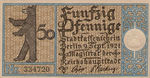 Germany, 50 Pfennig, 92.1 v1