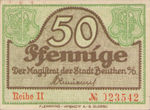 Germany, 50 Pfennig, B37.2f