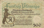 Germany, 50 Pfennig, B27.3b