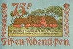 Germany, 75 Pfennig, 143.1