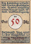Germany, 50 Pfennig, 268.5b