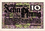 Germany, 10 Pfennig, D31.2a