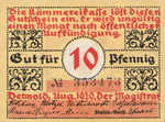 Germany, 10 Pfennig, 268.1a