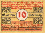 Germany, 10 Pfennig, 268.2a